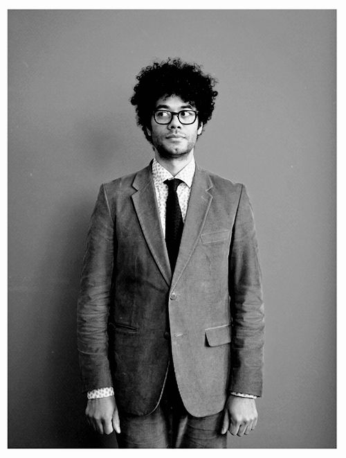 michellewilliamss:  Richard Ayoade, photographed by Michael Leckie.