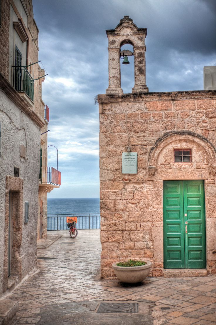 Church & Bike - Polignano a Mare , Apulia Italy