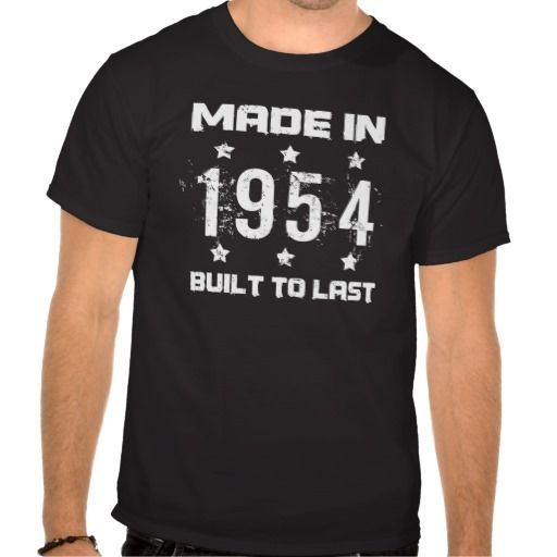 >>>best recommended          Made In 1954 Birthday Tshirts           Made In 1954 Birthday Tshirts today price drop and special promotion. Get The best buyReview          Made In 1954 Birthday Tshirts Review on the This website by click the button below...Cleck Hot Deals >>> http://www.zazzle.com/made_in_1954_birthday_tshirts-235030855081872388?rf=238627982471231924&zbar=1&tc=terrest