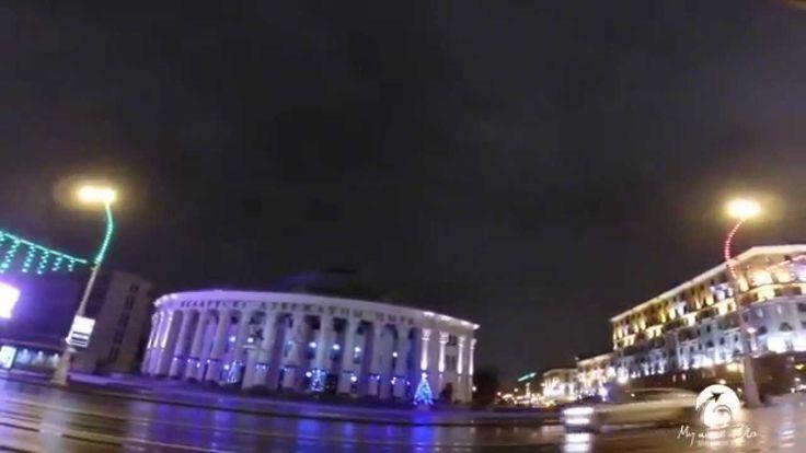 Belarus. Victory Square in Minsk