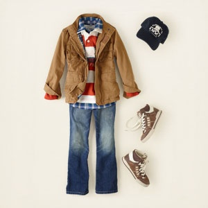 1. Another really adorable back to school outfit for boys. I can see my oldest wearing this, for sure! #MomSelect #backtoschool
