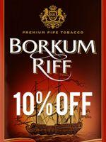 10% off Borkum Riff
