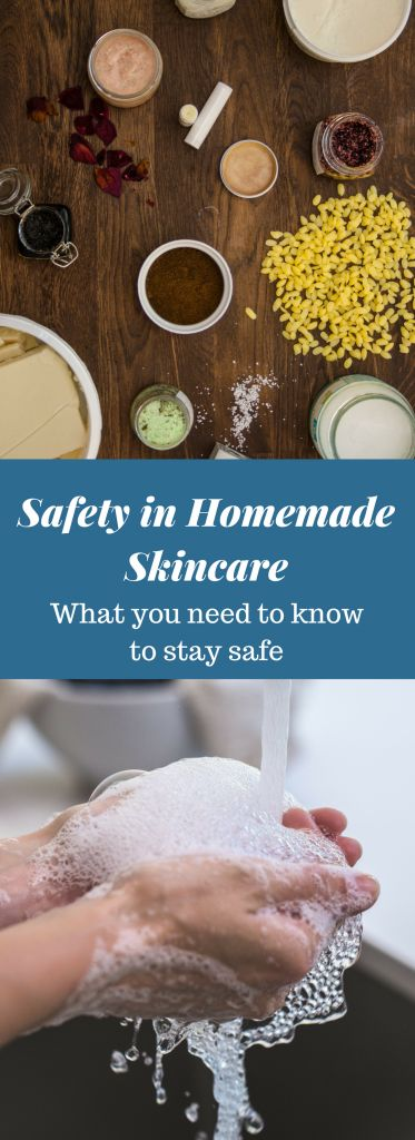 Get an overview of important steps & tips regarding safety in homemade skincare. Learn about topics such as preservatives, antioxidants and working sterile. #safety #homemade #skincare #beauty #preservatives #body #diy