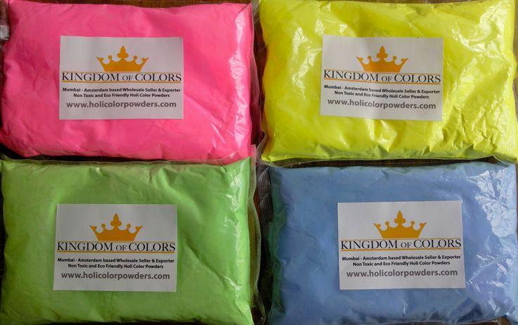 FLUOR Holi Color Powders