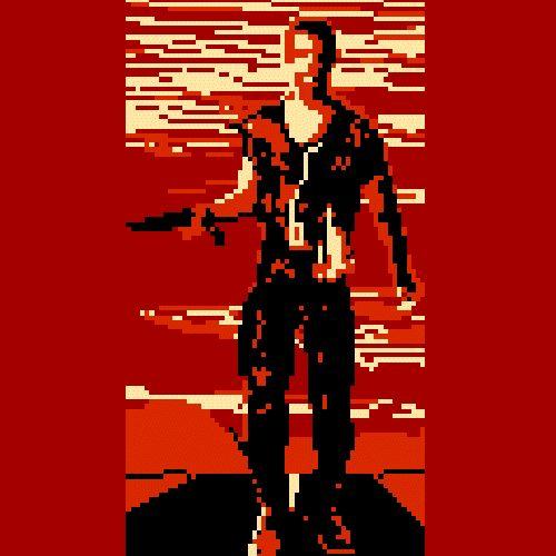 Bits vs Pics: '80s Video Game Graphics & the Original Photos | MASHKULTURE