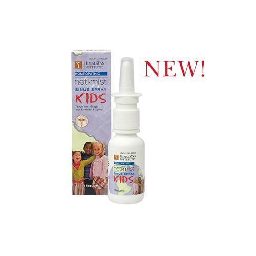 Himalayan Institute Neti Mist Kids Sinus Spray - 1 Fl Oz