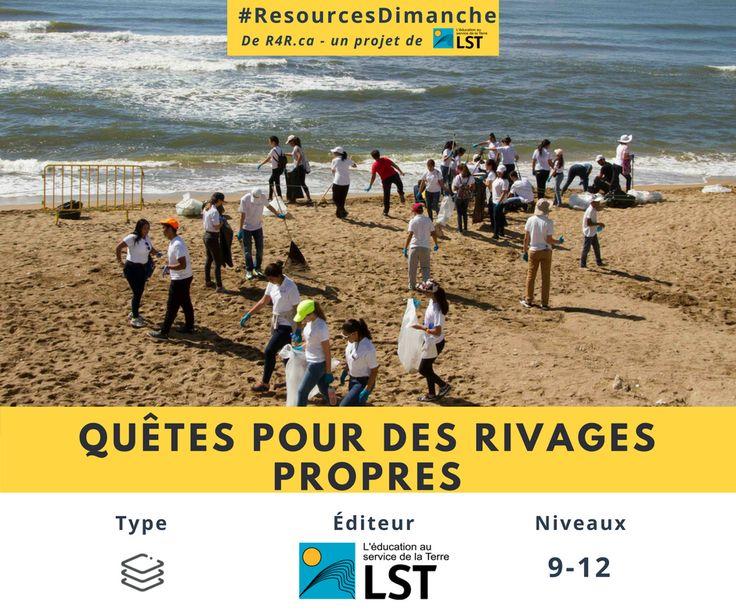 Bonne rentrée! Pour le premier #ResourcesDimanche de l'année, nous vous présentons «Quêtes pour des rivages propres,» un plan de leçon en 4 parties qui aidera vos élèves à passer à l'action en ce qui a trait au littoral et aux déchets qui l'encombrent.    Regardez l'activité à http://bit.ly/2xUQO6p    Pour plus de vidéos, plans de leçon, activités de plein air et de la littérature pour enfants, visitez http://resources4rethinking.ca/fr