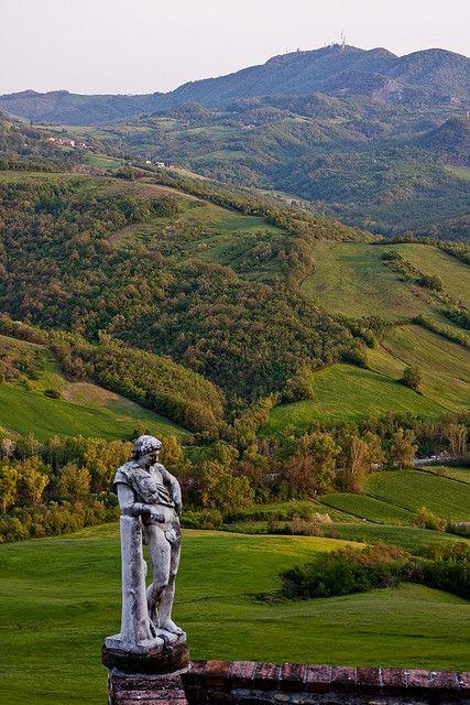 Vigoleno, Emilia Romagna, province of Piacenza. Italy