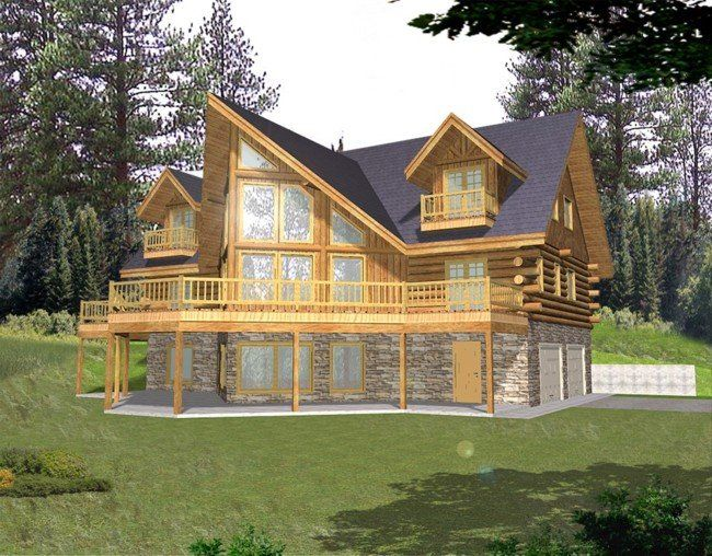 Best 25 cabin house plans ideas on pinterest cabin for Log homes with basement floor plans
