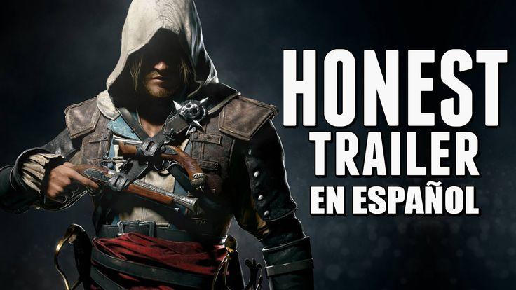 ASSASSIN'S CREED 4 (Honest Game Trailers en Español)