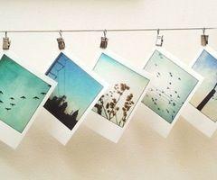 Polaroid pictures, my futur wall