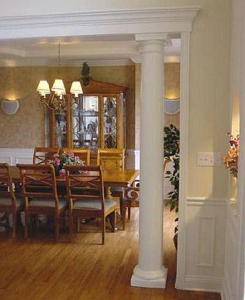 25 best ideas about interior columns on pinterest for Interior column