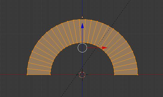 Creiamo un arco con la funzione Warp