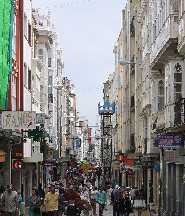 Calle Real Ferrol - El Ferrol - Coruña