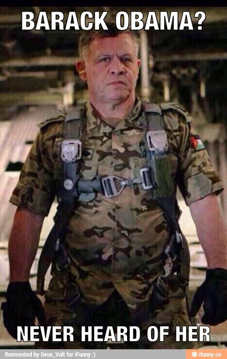 King Abdullah of Jordan ready to go after Isis after they burned his pilot alive in a cage!