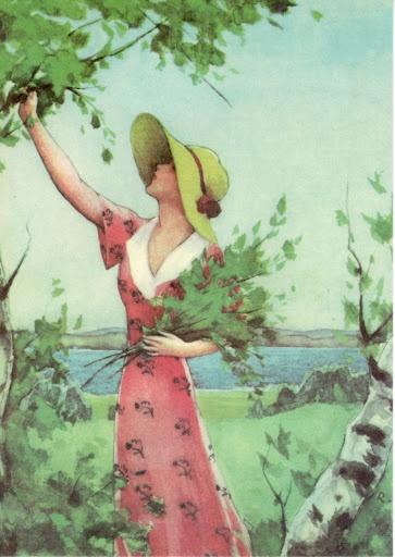 by Finnish illustrator and artist Rudolf Koivu (1890-1946)