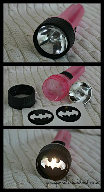 DIY: batman flashlight