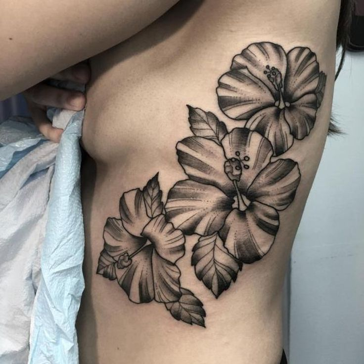 Simple Hibiscus Flower Tattoo: 26 Best Hibiscus Flower Tattoo Art Images On Pinterest