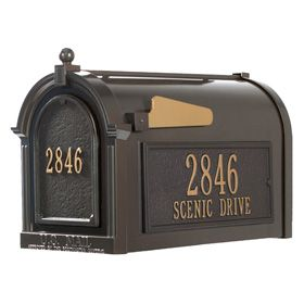 Residential Post Mount Decorative Mailboxes