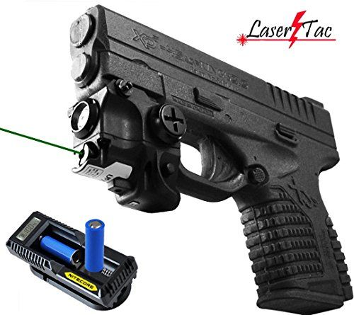 Lasertac Rechargeable Subcompact Green Laser Sight Light Combo for Springfield XD XD-S XDM S&W M&P Beretta PX-4 Taurus Millenium Walther P22 PPQ PPS PPX PK380 Ruger SR9C Sig Sauer Glock LaserTac http://www.amazon.com/dp/B00IEFYGVW/ref=cm_sw_r_pi_dp_T-M2ub0XNJRGV