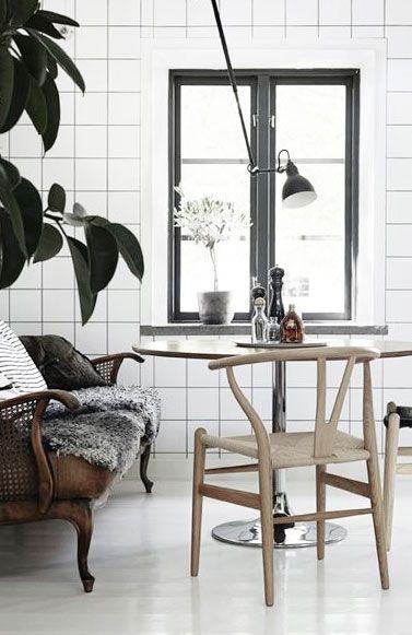 = scandinavian and vintage mix = Lotta Agaton styling