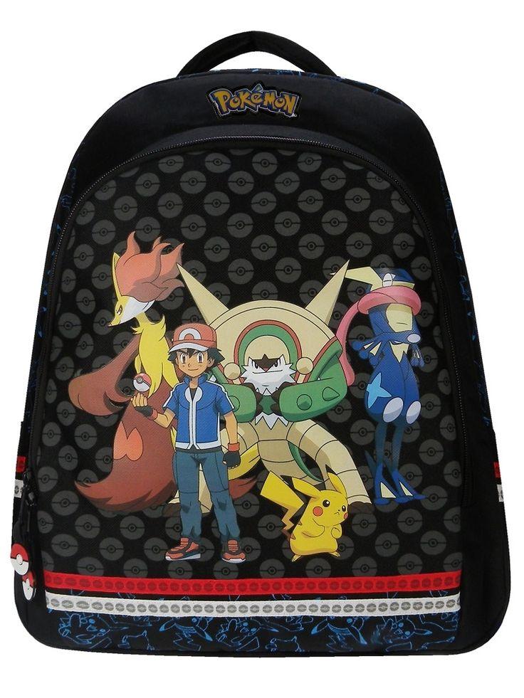 Pokemon rygsæk/ skoletaske 44 cm