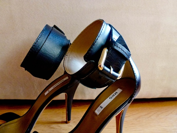 M's New open toe heels from MNG