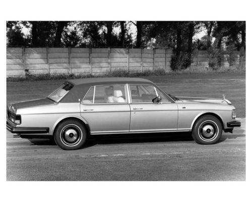 1985-Rolls-Royce-Silver-Spur-ORIGINAL-Factory-Photo-ouc0950