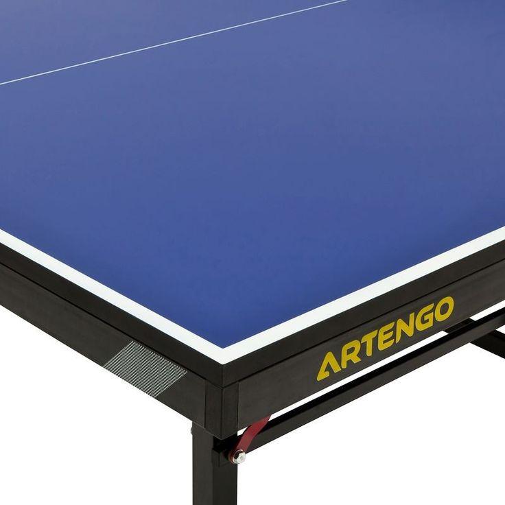 Stůl na stolní tenis FT950 homologovaný FFTT modrý