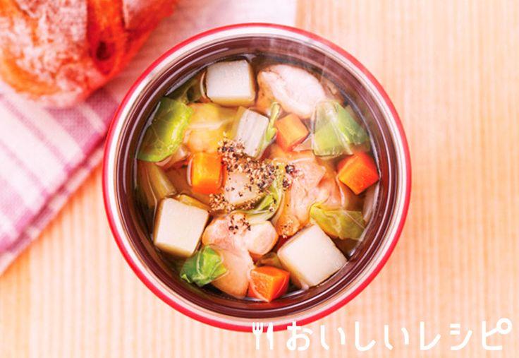 塩ちゃんこ/ゴロゴロ野菜の寄せ鍋/エバラ【おいしいレシピ】