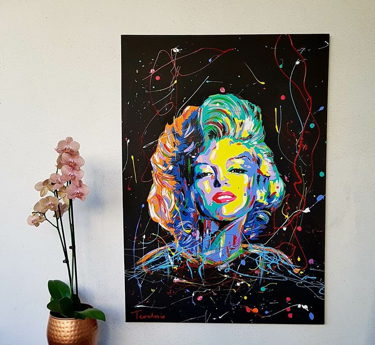 my new artwork ''Marilyn Monroe'' acrylic colours on canvas... #teodosio #art #marilynmonroe #monroe #marilyn #greekartist #greece #teodosiosectioaurea