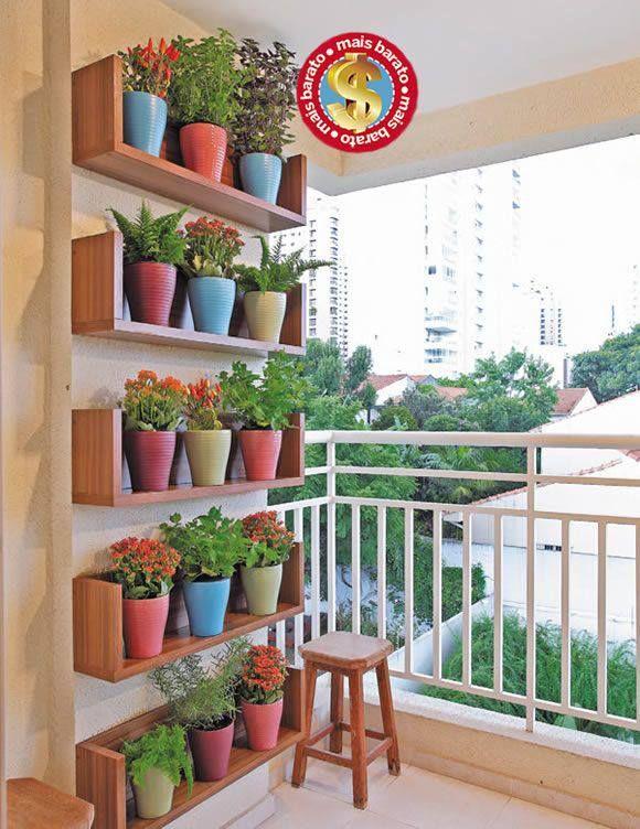 para los que no tenemos mucho espacio es una buena opcion de jardineria y lindisimo