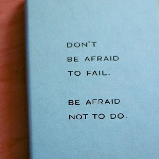 Don't Be Afraid To Fail. Be Afraid Not To Do. Learn How To Create Your Own Laptop Lifestyle Business.