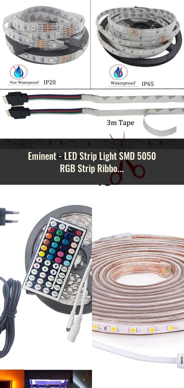 LED Strip Light SMD 5050 RGB Strip Ribbon Diode Tape RGB ...
