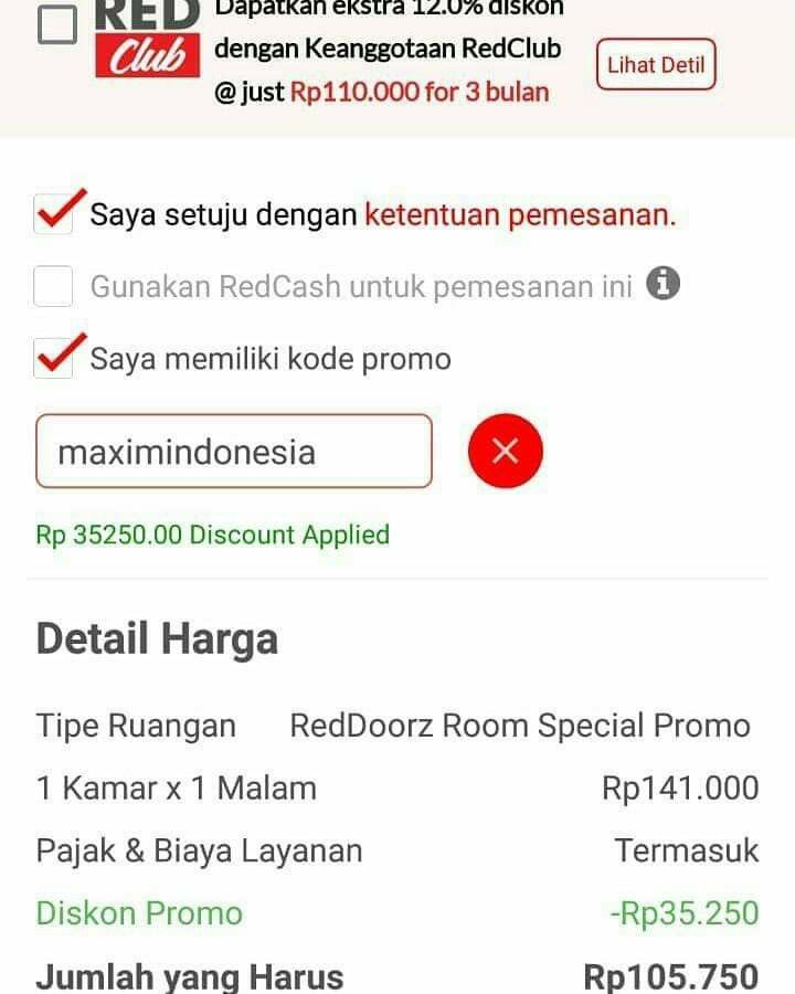 Kode Promo Diskon 25 Booking Hotel Di Jaringan Reddoorz Booking Hotel Hotel Booking
