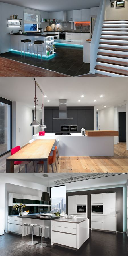 Entsprechende Beleuchtung Gibt Die Seele Deiner Küche. Schau Mal Auf Die  Hinzugefügte Bilder Und Lass Ihnen Dich Inspirieren. #möbel #küche #deko  #hausdeko ...