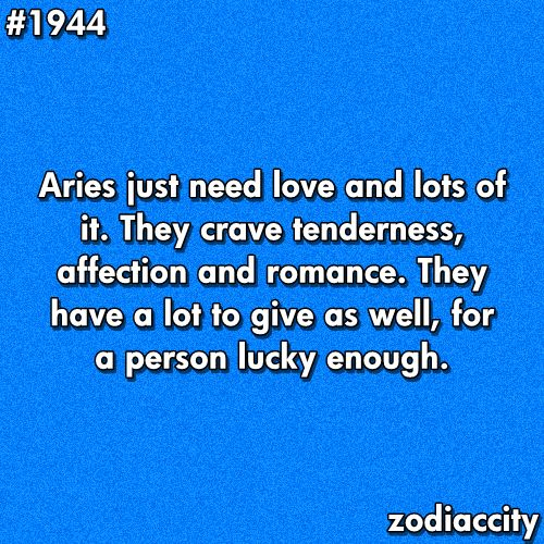 Aries needs... @Abbie Barnes Barnes Barnes Wellspeak