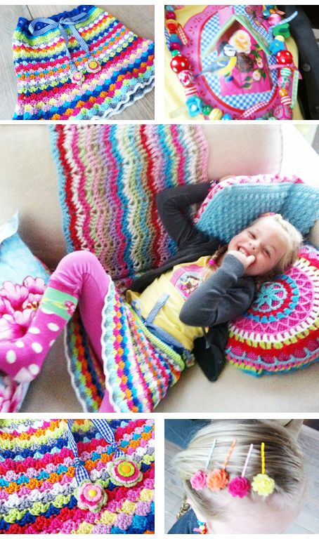 Lots of pretty things here, but I really love that skirt! Will have to find a pattern and make one for my daughter.