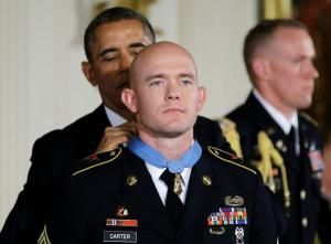 Medal of Honor shines spotlight on PTSD - This man was on Letterman the other night, and gave such an eloquent description of what he's been through.  It makes me wonder what relatives of mine - a green beret in Vietnam, a purple heart recipient in WWII - had to go through without much, if any, help.