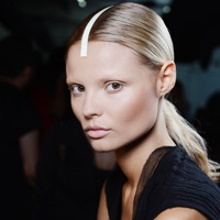 From runway to real life: How to get the look of flawless skin as seen at Alexander Wang during NYFW: Wang Spring, Fashion Week, Hair Makeup, Alexander Wang, Alex Wang, Hair Trends, Spring 2013, Alexanderwang, Beautiful Trends