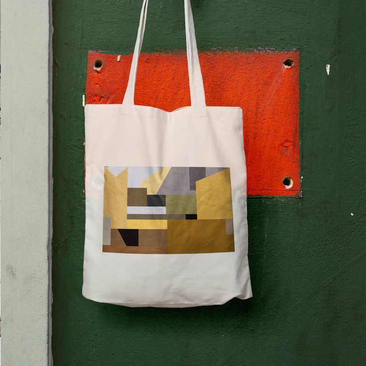 Gainsborough Art History Tote Bag | Urban Tote bag | Cotton totes | Architect tote bag | Vintage tote bag | Art tote bag | Abstract art
