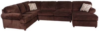 Homemakers Furniture: 3 Piece Sectional: Ashley : Living Room: Sectionals $849