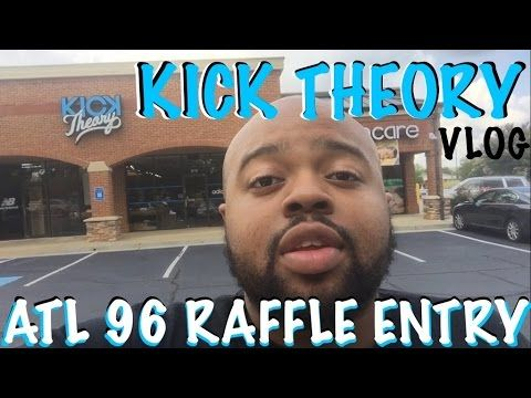 Kick Theory Vlog and Nike Air Trainer SC High ATL 96 Raffle Entry