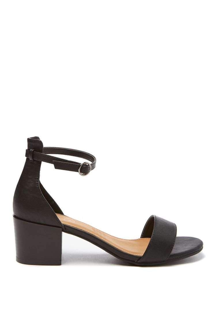 IVY LOW BLOCK HEEL
