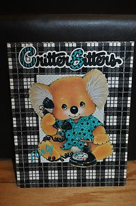 Critter Sitters Koala folder....I had this exact same folder in grade school.  I loved koala bears back in the day!!