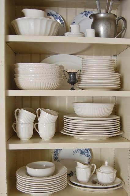 Mikasa Italian Countryside creamware - one of my favourites!!!