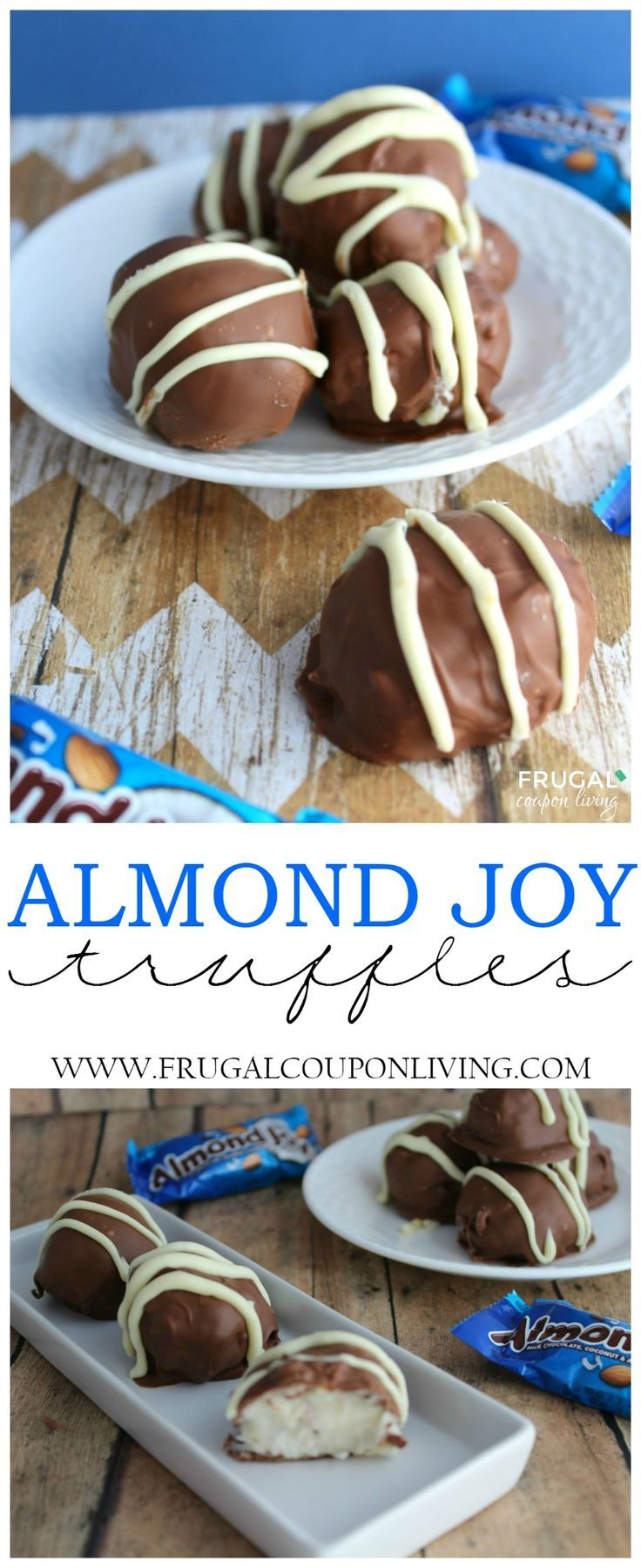 Frugal Coupon Living's Almond Joy Truffles Recipe. Consider these for a cookie e...