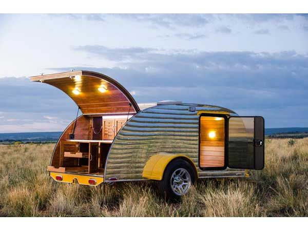 Teardrop trailers Colorado | Lemondrop teardrop trailer Colorado