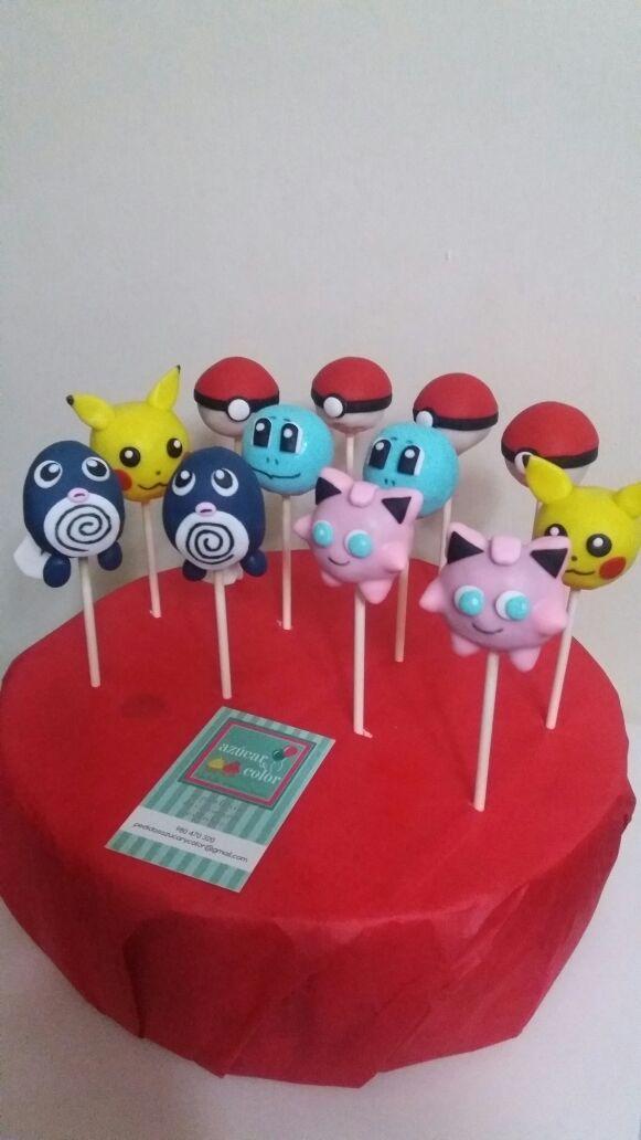 Cake pops Pokémon