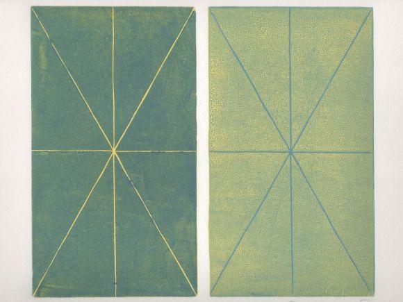 Laham looum synesthetic linoleum print